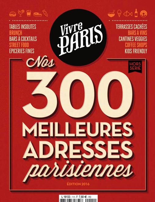 Vivre Paris Hors Série 2016